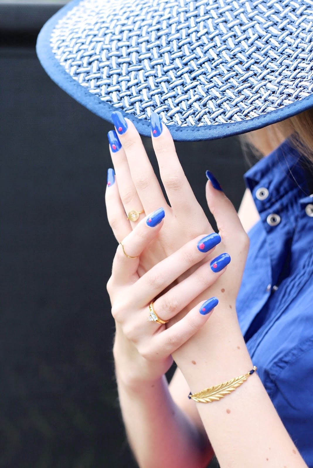 Jessica Nails Prime Collection Cobalt Creme