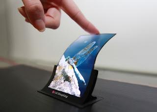Daftar fitur smartphone masa depan : Flexible Screen