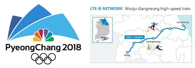 Pyeong Chang 2018 fast train internet