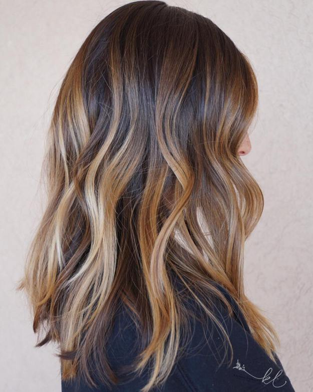 Bronde Balayeage Hair Color