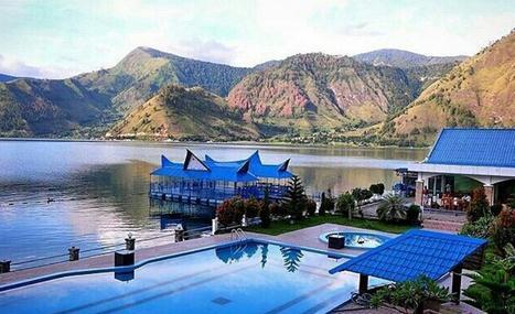 dengan menuju desa tongging anda dapat menikmati danau toba dari ketinggian sehingga akan terlihat semua pemandangan yang ada di
