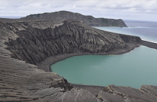 NASA showed the evolution of the youngest volcanic island on Earth