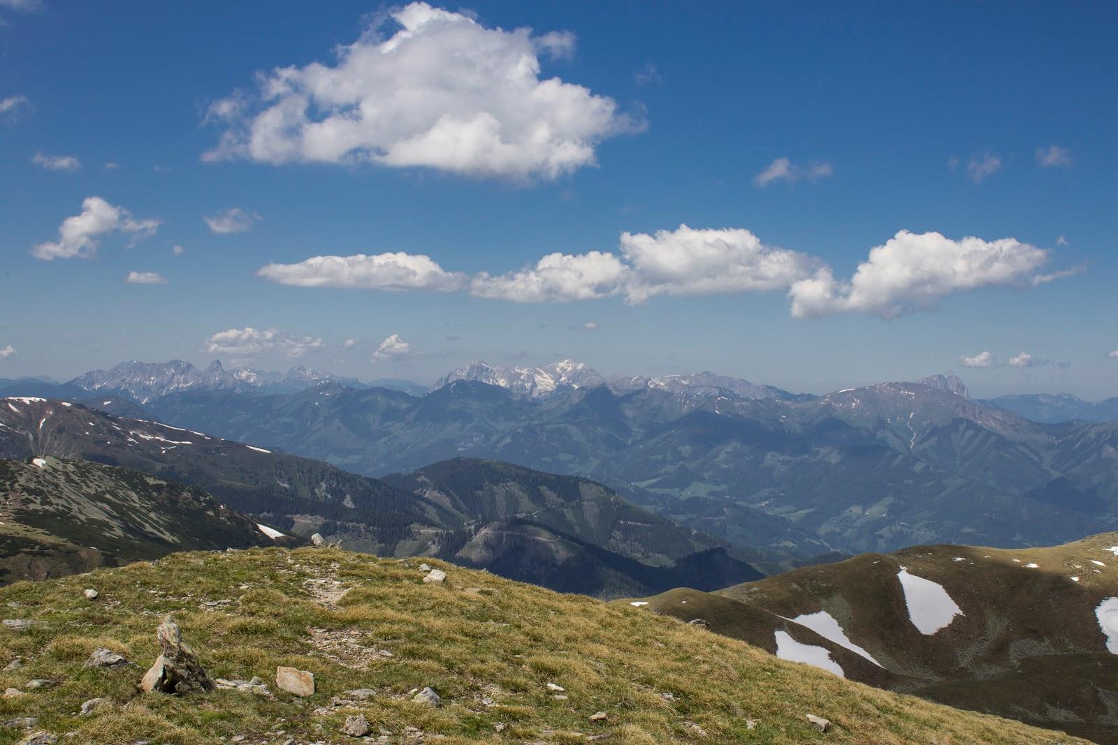 Panorama - Von der Unteren Bodenhütte über den Hämmerkogel zum Seckauer Zinken - mittelschwere Wanderung in den Niederen Tauern