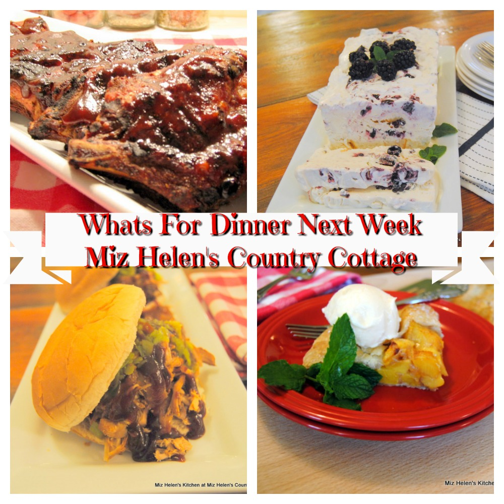Whats For Dinner Next Week * Week of 7-5-20