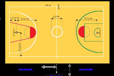 40+ Trend Terbaru Buatlah Gambar Lapangan Bola Basket Beserta Ukurannya Jelaskan Peraturan Dalam Bola Basket