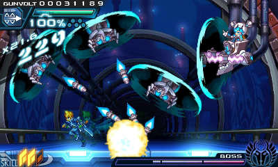 Azure Striker Gunvolt screenshot 2