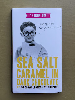 Grown Up Chocoate Company Salted Caramel Dark Chocolate