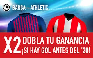 sportium promocion Barcelona vs Athletic 29 septiembre