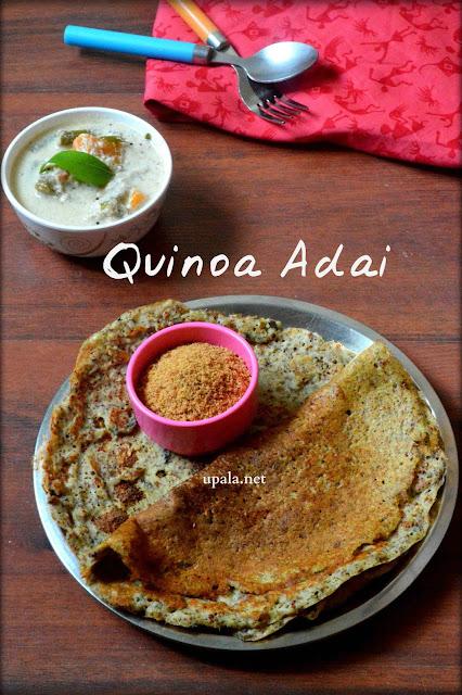Quinoa Banana Flower Adai