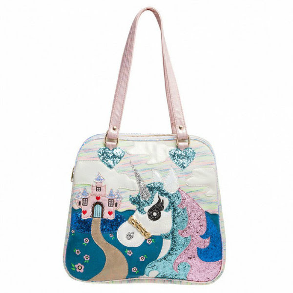 Irregular Choice king of the castle unicorn bag
