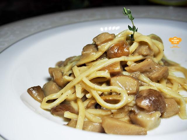 Spaghetti Chitarra Al Porcini at Passione Ristorante Italiano @ Sri Petaling