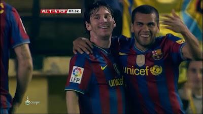 LFP-Week-35 Villarreal 1 vs 4 Barcelona 01-05-2010