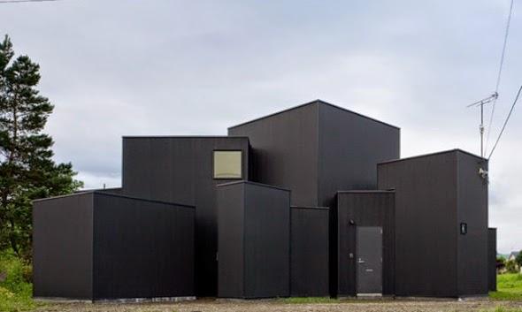 Case giapponesi contemporanee house o jun igarashi for Case contemporanee