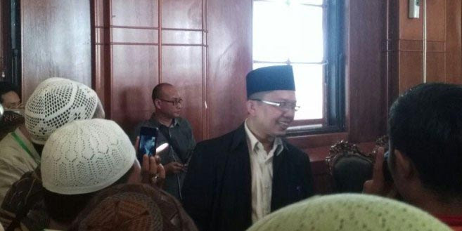Waduh, Sidang Ustad Alfian Tanjung, Ternyata Link Video Barang Bukti Bodong Tak Bisa Dibuka