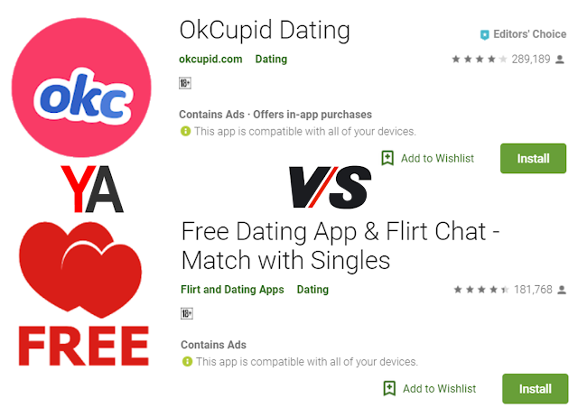 Dating app comparison