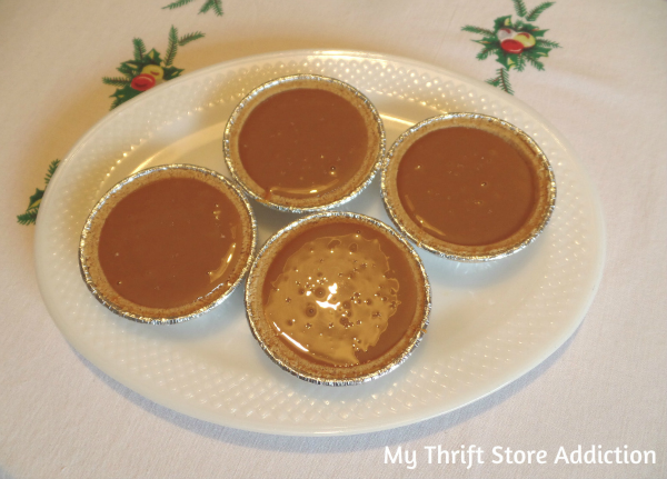 Salted Caramel Tarts Easy no bake dessert mythriftstoreaddiction.blogspot.com