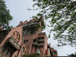 The Twilight Zone Tower of Terror at Disney's Hollywood Studios in Disney World