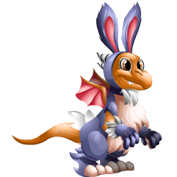 Appearance of Bunny Dragon when teenager