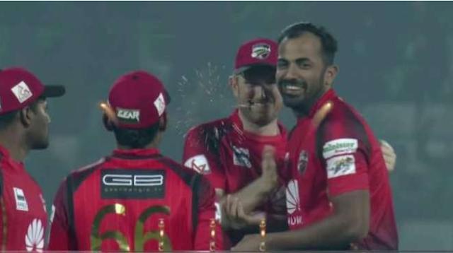 Bangladesh Premier League, Wahab Riaz, became the only Pakistani bowler for two twenty twenty Hetrick