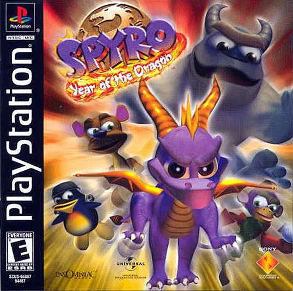 Spyro the Dragon 3 - Year of the Dragon - PS1 - ISOs Download