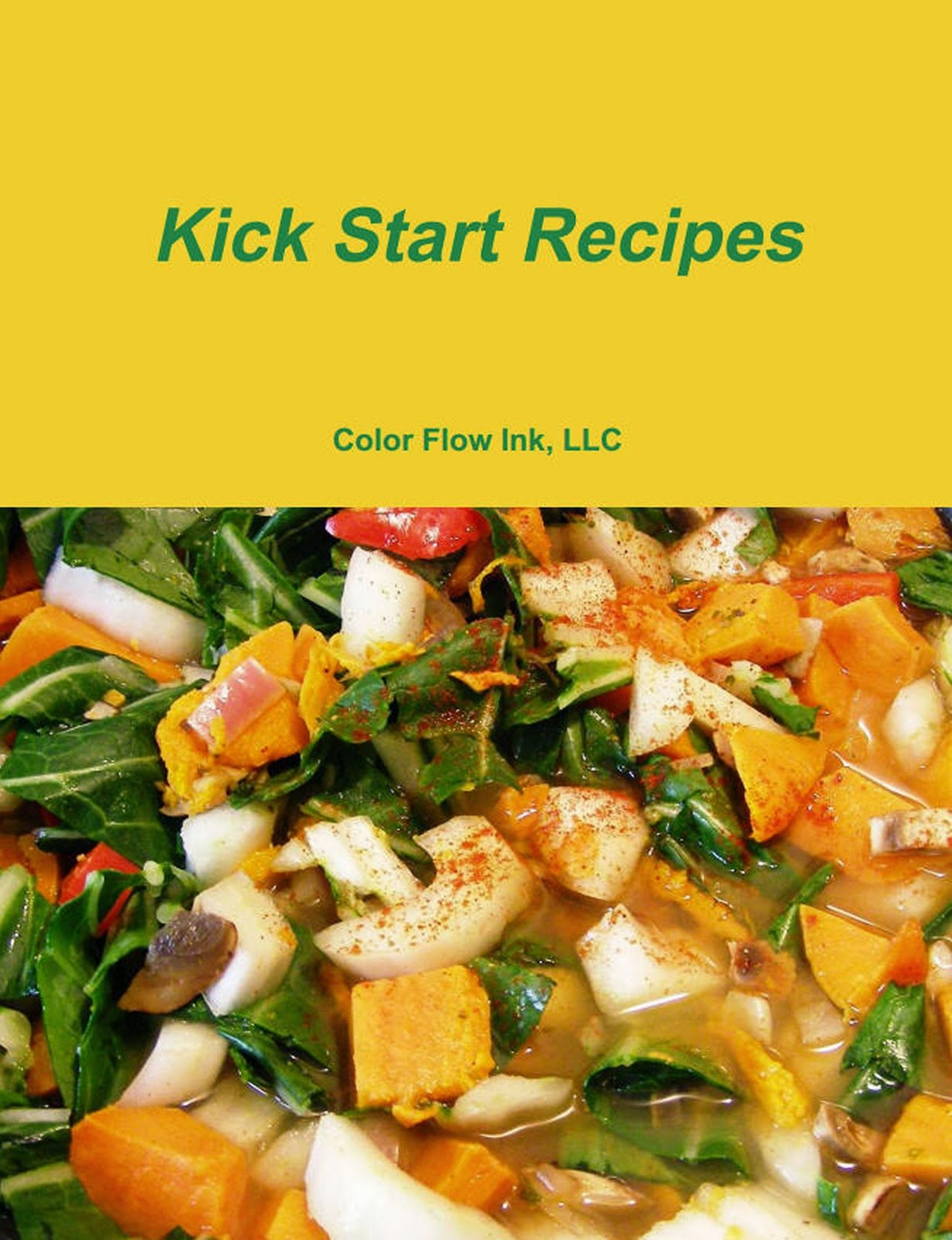 COOKBOOKS - Kick Start Recipes