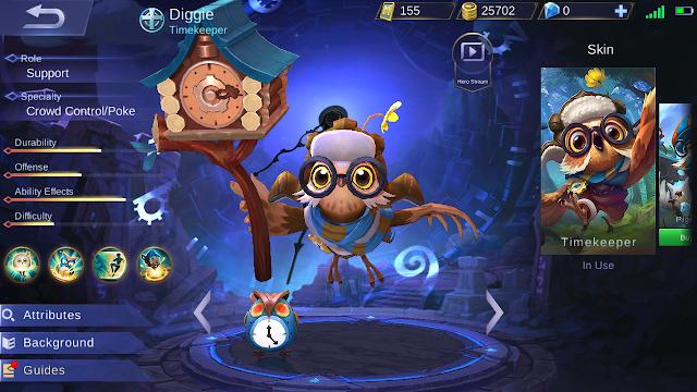 Diggie Mobile Legends