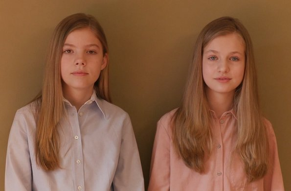 Daughters of King Felipe and Queen Letizia, Crown Princess Leonor and Infanta Sofía sent a video message to Spanish youth
