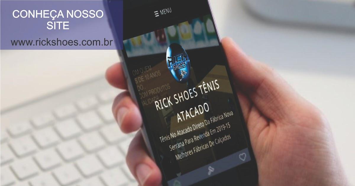 Rick Shoes tênis atacado   Tênis No Atacado Direto Da Fábrica Nova Serrana  Para Revenda Em 2018 999d720b2cf74