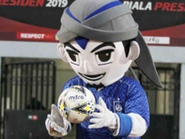 Maskot PSIS Semarang, Emje Kampanyekan Pesan Mulia di Piala Presiden