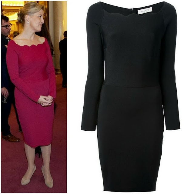 Sophie, Countess of Wessex in Valentino