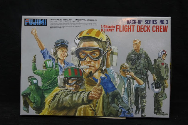 Us Navy Flight Deck Crew Fujimi 1/48