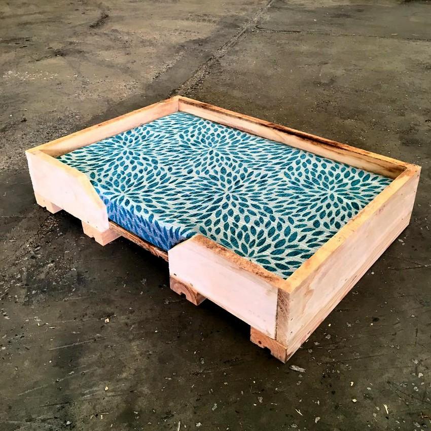 DIY Pallet Dog Bed Ideas Make At Home - Pallets Platform