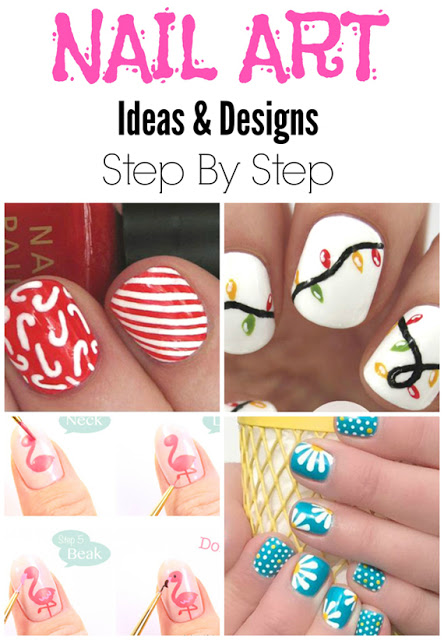 Its Sewn Diy Easy Nail Art Ideas Designs Step By Step Tutorials