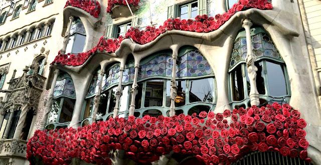 Sant Jordi, Flores