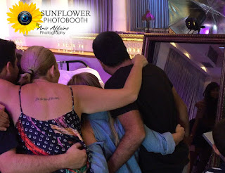 The Sunflower Photobooth by Aris Affairs Photography is a great addition to your Prescott class reunion.