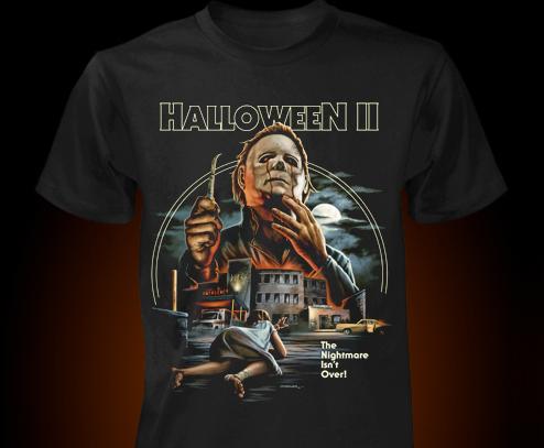 Fright-Rags Unveils 'Halloween II' and 'III' Shirt
