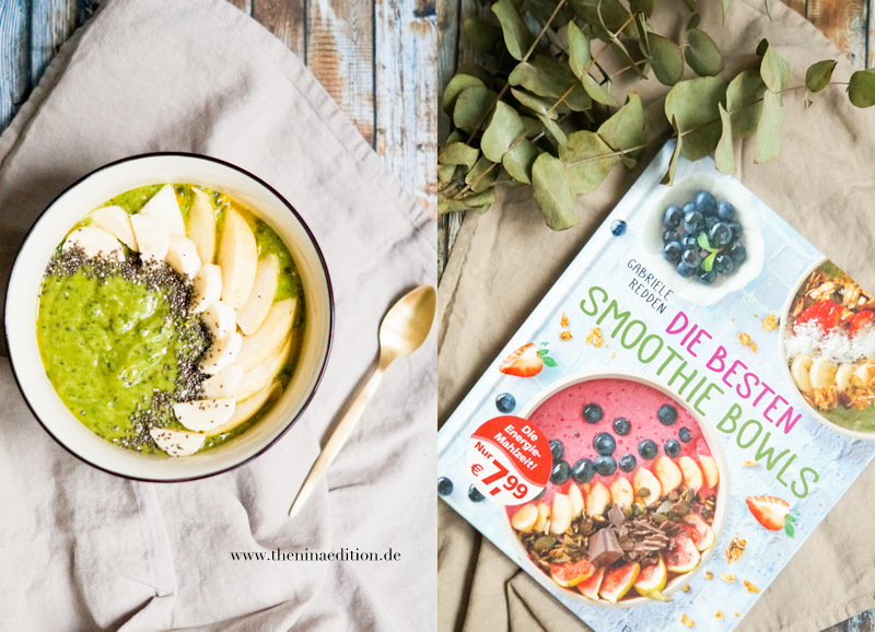 Babyspinat Limetten Smoothie Bowl