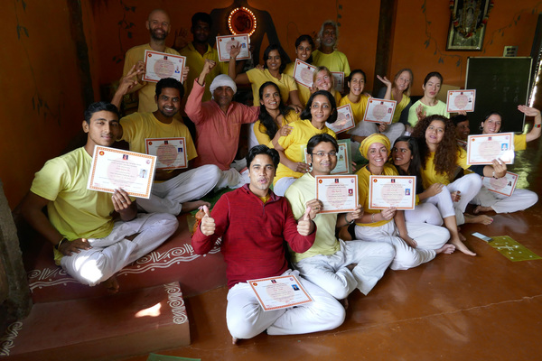 Certified YOGA Instructors at Inteyoga Ashram Mysore India
