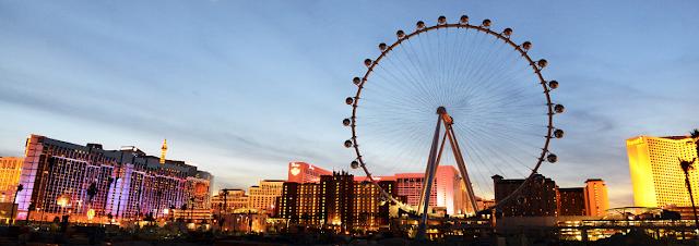Roda gigante High Roller em Las Vegas