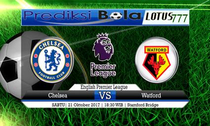 Prediksi Pertandingan antara Chelsea vs Watford 21 Oktober 2017