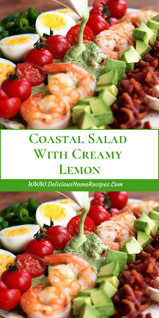 Coastal Salad With Creamy Lemon
