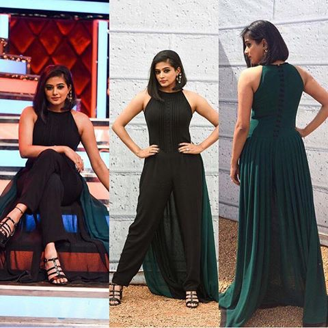 Priyamani awesome outfit designed pics