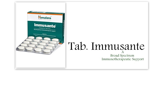 Immusante Tablets:Manufacturer, Ingredient, Indications, Benefits, Dosages, Contraindications, Side Effects, Presentation
