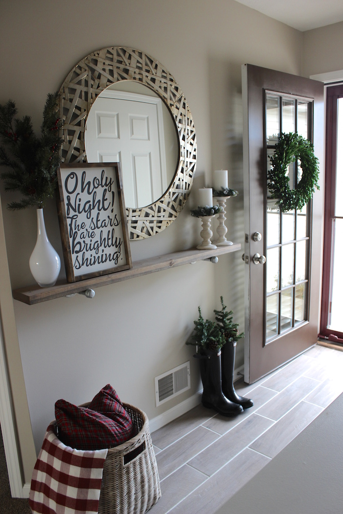 It S A Grandville Life Christmas Front Entryway