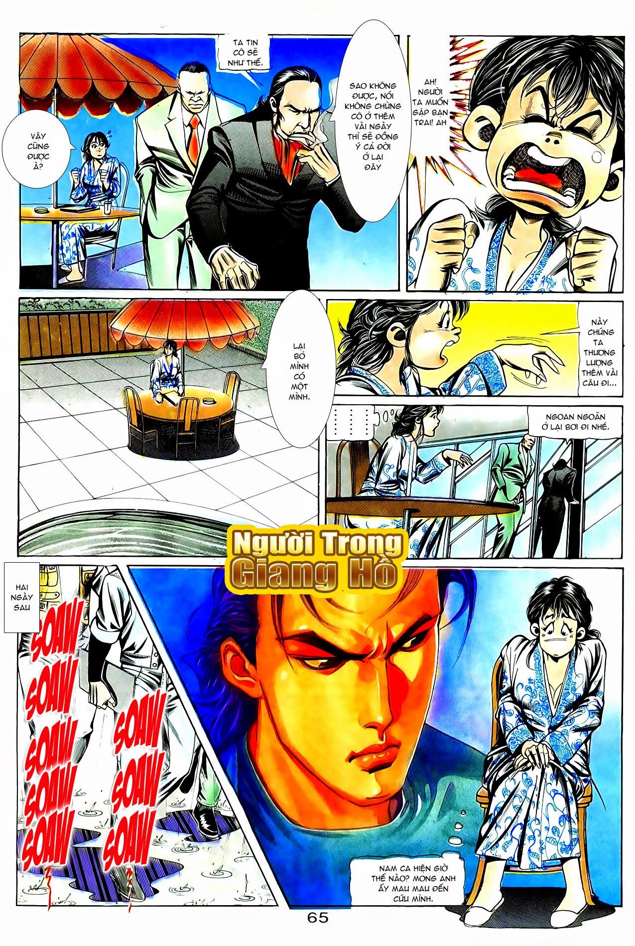 Người Trong Giang Hồ chapter 86: săn báo trang 8