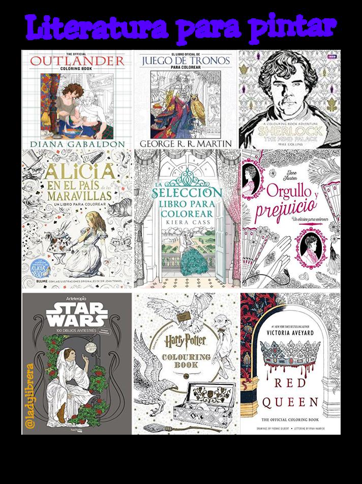 Literatura para pintar ~ Lady Librera Presenta