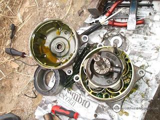 Pistones del compresor aire acondicionado Volkswagen Golf