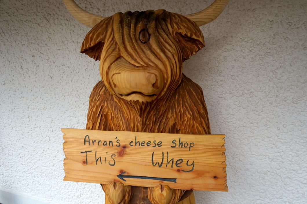 arran cheese shop