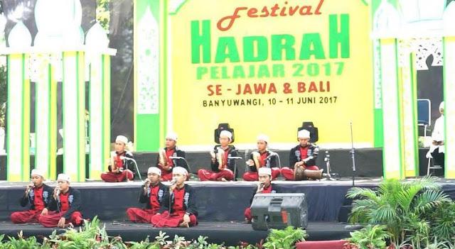 Festival Hadrah Banyuwangi, 26-27/5/2018