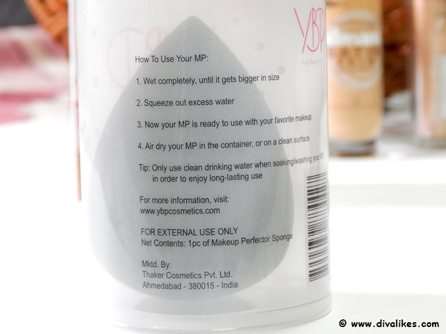 YBP Makeup Perfector Sponge Lust